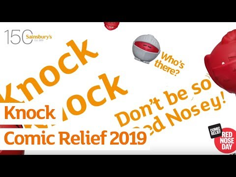 Knock | Comic Relief 2019 | Sainsbury's