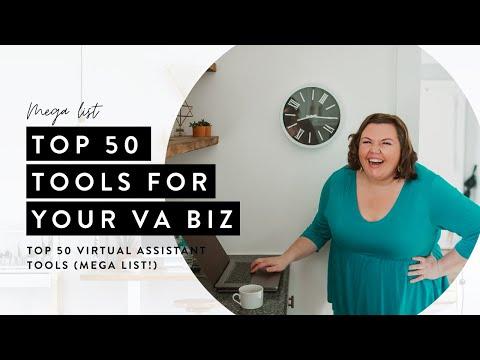 The Top 50 Virtual Assistant Tools Mega List!