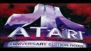 Classic PS1 Game Atari Anniversary Edition Redux on PS3 in HD 1080p