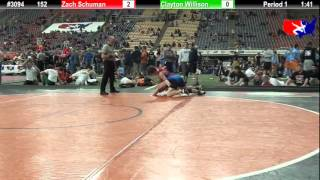 FSN 152: Zach Schuman (Tri-Valley) vs. Clayton Willison (USA Mat Club)