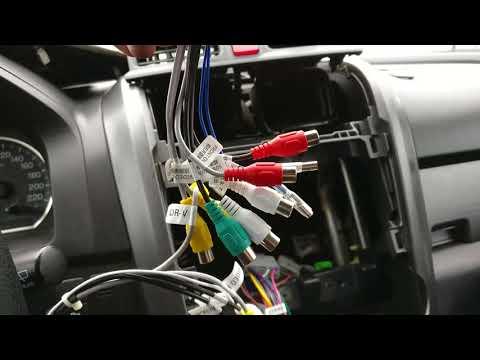 CR-V 3. Магнитола. Установка нового головного устройства с Bluetooth, флешками и навигацией