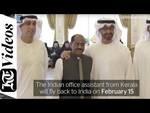 Mohamed bin Zayed bids farewell to Indian employee after 40 years