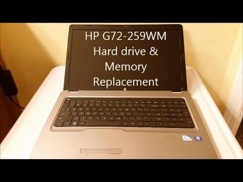 HP G72-259WM Notebook Download Drivers