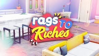 NEW HOUSE BUILD! 🏡 // The Sims 4: Rags To Riches