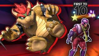 BATTLING THE BEST BOWSER - Leon VS. Fatality