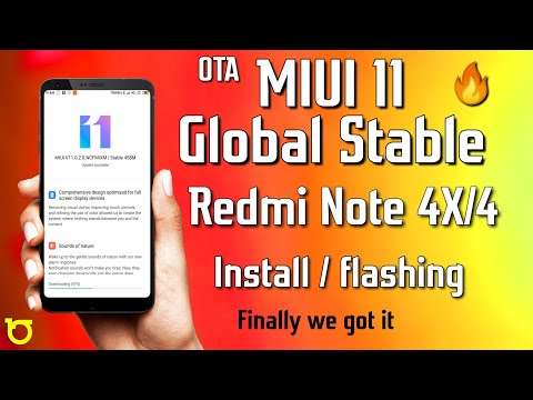 How to Flash Global Stable MIUI 11 update in Redmi Note 4X/4 | MIUI 11 OTA Update for Redmi Note 4🔥