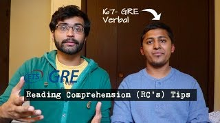 Baixar GRE RC's | Tips from 167 Verbal Scorer