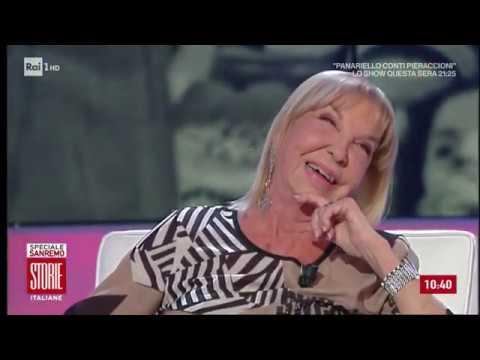 """Wilma Goich: """"La moglie di Edoardo Vianello non ci fa cantare insieme"""" - Storie italiane 14/02/2020"""