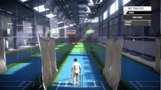 Don Bradman Cricket 2014   Nets Practice   Spin Bowling   Exclusive Preview