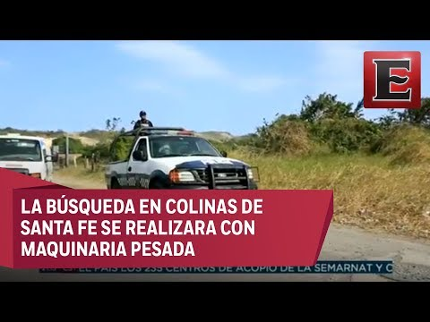 Continúan buscando fosas clandestinas en Veracruz