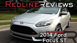2014 Ford Focus ST Review, Walkaround, Exhaust, & Test Drive