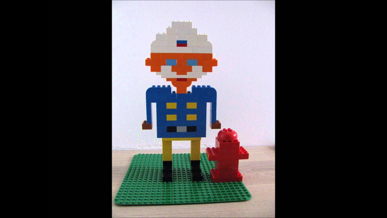 Lego Station Officer Steele  Fireman Sam  YouTube