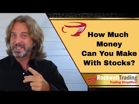 How Much Can You Make From Stocks In A Month?