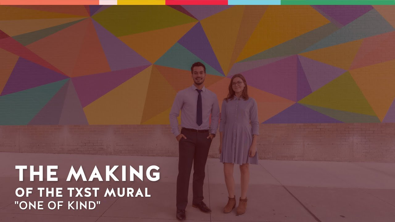 "The Making of TXST's ""One of Kind"" Mural 