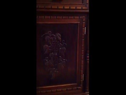 деревянный буфет своими руками