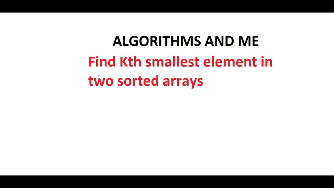 how to find smallest element in array java