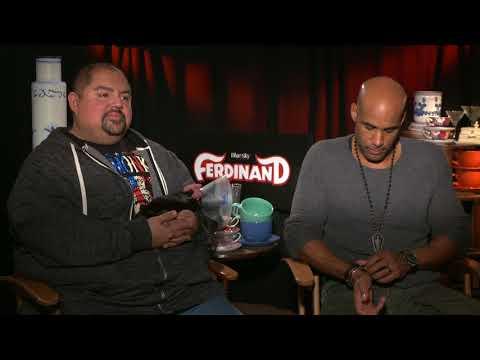 Boris Kodjoe & Gabriel Iglesias  for 'Ferdinand'