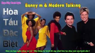 Liên Khúc Boney m Va Moder Talking  | Sự Kết Hợp Độc Đáo |  Nhạc Sống Thanh Ngân