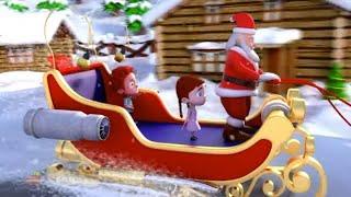 Jingle Bells | Schoolies Nursery Rhymes for Kids | X'mas Videos for Babies