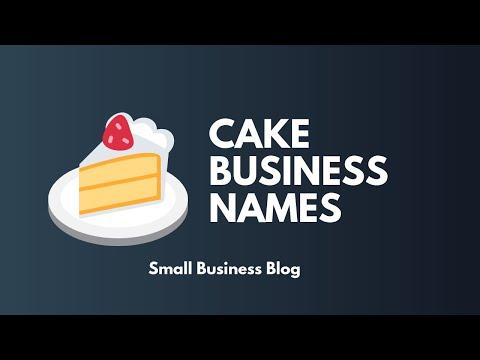 Catchy Cake Business Names Idea