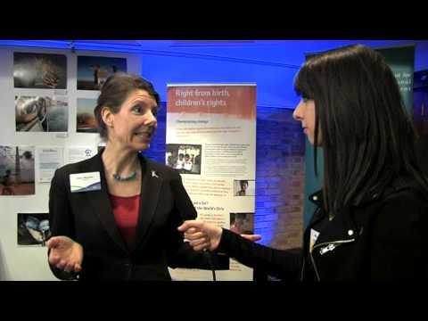 DFID Youth Reporter Attia Iqtadar interviews UNICEF's Alison Davies