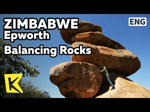 【K】Zimbabwe Travel-Epworth[짐바브웨 여행-엡워스]짐바브웨의 풍경 밸런싱록/Balancing Rocks/Logan stone