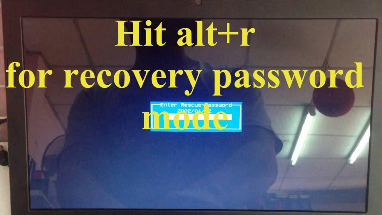 asus laptop reset bios password