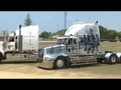 Brisbane Convoy for Kids 2014 with Oztruckintv