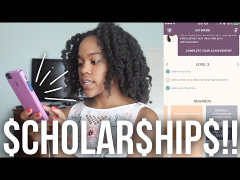 How to find SCHOLARSHIPS in high school FAST! (Goodwall App Review)