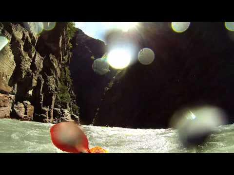 Var - Gorges de Dalois 17.04.14 mit dem Paddelboot