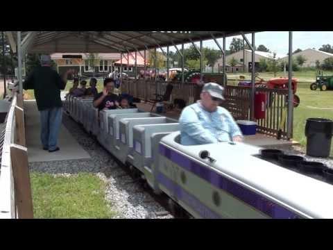 Southeastern Railway Museum Park train ride