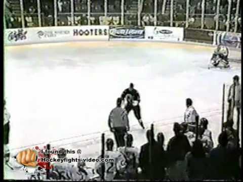 Ken Richardson (ice hockey) Jan 24 2003 Jeremy Cornish vs Ken Richardson Laredo Bucks vs Corpus