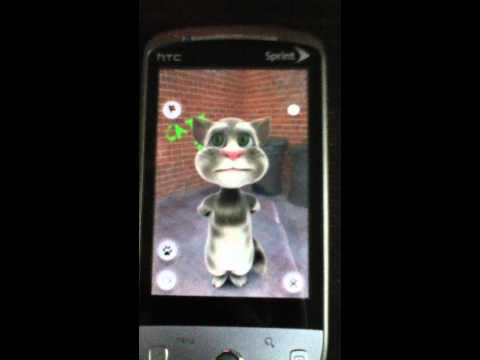 Talking Tom on the HTC Hero