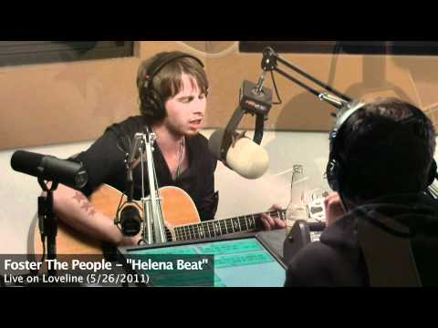 Foster the People - Helena Beat (Live Acoustic Performance on Loveline)