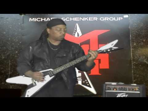 Guitar cover : Michael Schenker - UFO : p.2 - I ain't no baby ( rhythm guitar)