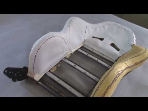 A Sports Seat in Leather (Templates) - Part 7