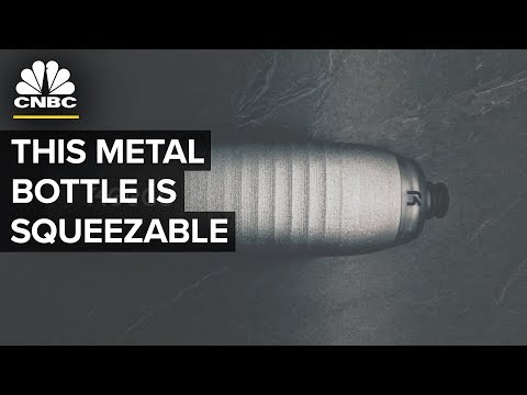 This Indiegogo Water Bottle from Keego Is Made Of Titanium