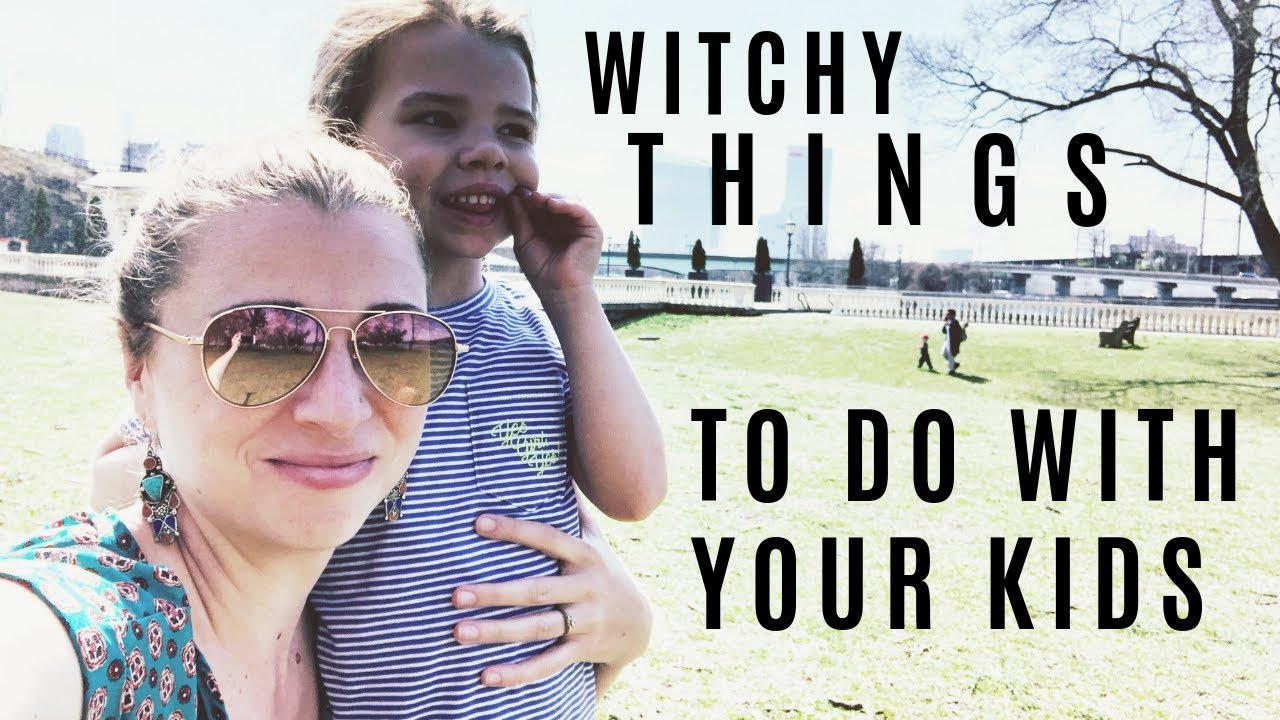 Witchy Things to Do With Your Kids