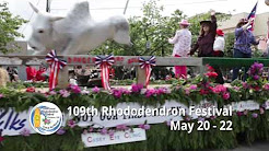 109th Rhododendron Festival May 20-22 in Florence, Oregon