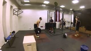 Central Europe WOD 1 - JM Jordan 220 reps Latvia