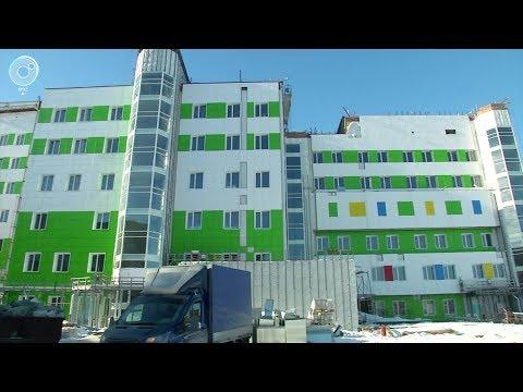 В Новосибирске полным ходом идёт строительство нового перинатального центра Областной больницы