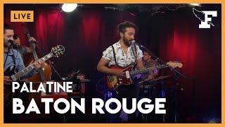 """Palatine - """"Baton Rouge"""" dans la session Figaro Live Musique"""