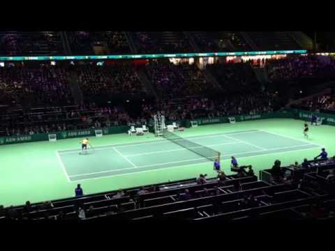 Andy Murray vs Vasek Pospisil - ABN AMRO WORLD TENNIS TOURNAMENT 2015