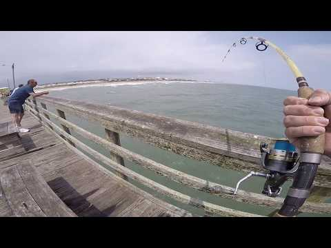 Huge Run At Bogue Inlet Pier - Failed Double Uni (Emerald Isle, NC)