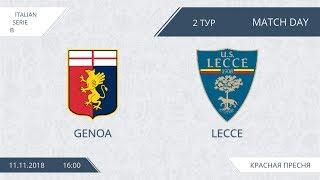 AFL18. Italy. Serie B. Day 2. Genoa - Lecce