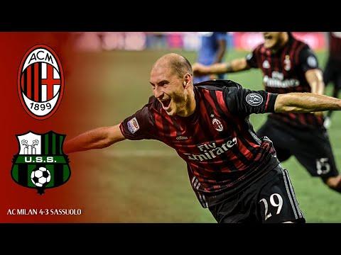 MILAN 4-3 SASSUOLO I HD Full Highlights & Goals Serie A TIM I 2016/17 I Milan Actu