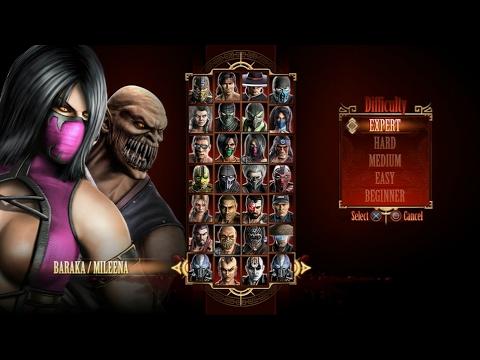 Mortal Kombat 9 - Expert Tag Ladder (Baraka & Mileena/3 Rounds/No Losses)