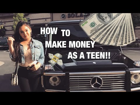 EASY WAYS TO MAKE MONEY AS A TEEN!! ft. MINI GIVEAWAY!