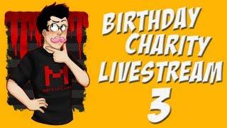 Birthday Charity Livestream | Part 3 | EXPLOSIONS AND SURGEON SIMULATOR