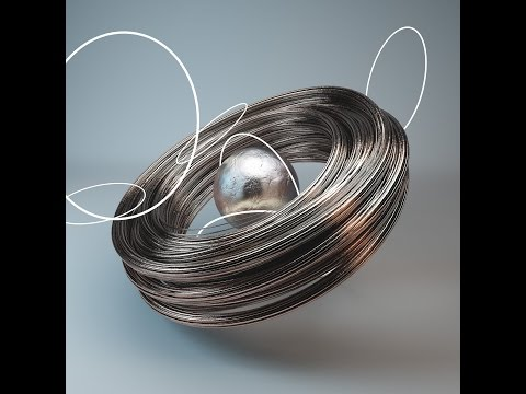 Cinema 4D Tutorial - Making A Metal Texture Look With Great Lighting